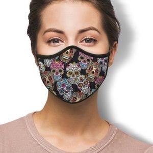 IN STOCK Fast Ship Sugar Skull Fashion Face Mask